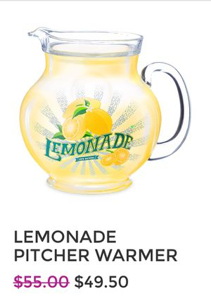 Scentsy Lemonade Pitcher Warmer $49.50 for Sale in Baldwin Park, CA