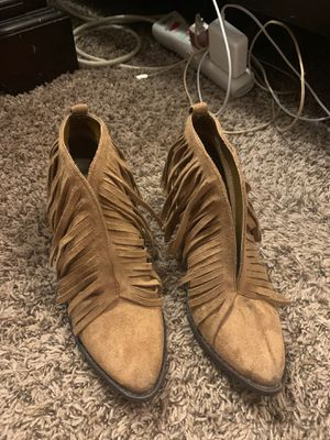 Fringe Booties for Sale in Pflugerville, TX