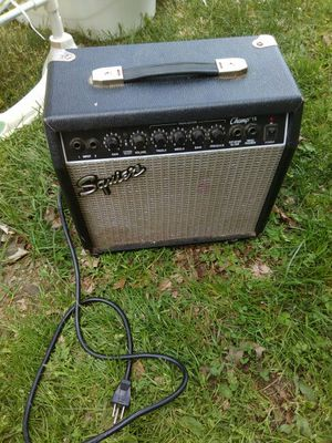 Squire guitar amp for Sale in Marengo, OH