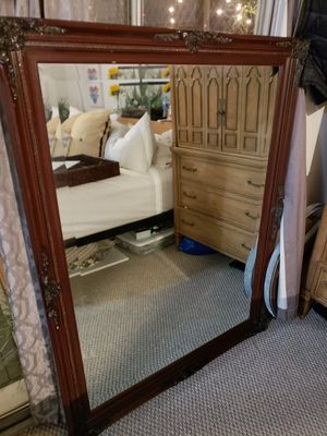 Large wood Vintage mirror - amazing condition for Sale in San Diego, CA