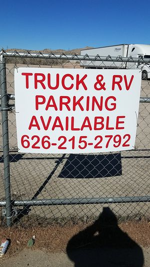 Truck and RV parking available for Sale in Victorville, CA