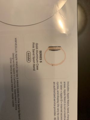 Apple Watch series 5 Brand new, sealed 44mm for Sale in Miramar, FL
