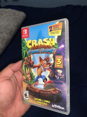 Crash Bandicoot Nintendo Switch for Sale in Bloomington, CA
