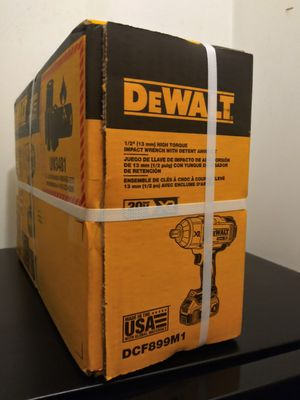 """1/2""""(13mm) High torque impact wrench with dentet Anvil kit for Sale in Falls Church, VA"""