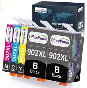 OfficeWorld Compatible Ink Cartridges Replacement for HP 902XL 902 XL, Used for OfficeJet Pro 6968 6978 6958 6962 69 for Sale in Rancho Cucamonga, CA