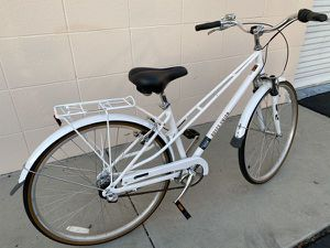 """Royce Union RMX Women's 3-speed Commuter Bike 15"""" Frame Bicycle White for Sale in San Diego, CA"""