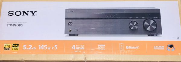 Sony Multi Channel Audio/Video Receiver 5.2 Channel 145 wattsX5 Dolby Vision w/ Bluetooth