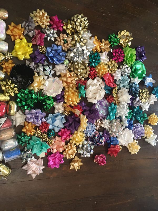 Huge pack of ribbons & bows