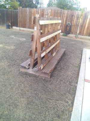Wood rack for windows for Sale in Hemet, CA