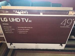 """New TV LG 49"""" smart 4k for Sale in Norcross, GA"""