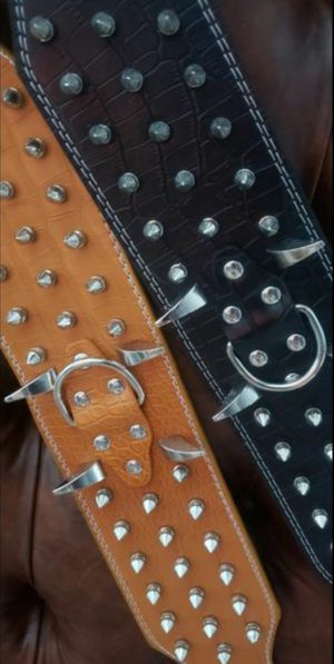 Spike Dog Collar Leather for Sale in E RNCHO DMNGZ, CA