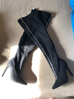 Thigh high boots sz 7 for Sale in Brooklyn, NY