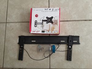 2 flat screen tv wall mounts for Sale in Riverdale, CA