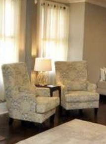 Ashley newer wingback chairs for Sale in EASTAMPTN Township, NJ