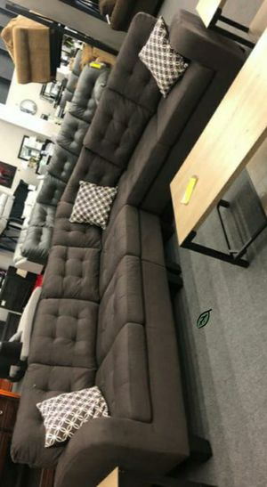 🍒 BEST Offer SPECIAL] Lantana Chocolate Reversible Sectional 67 for Sale in Jessup, MD