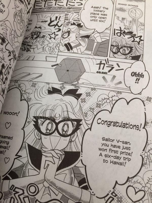 Manga comic book sailor moon code name sailor v venus volume 1