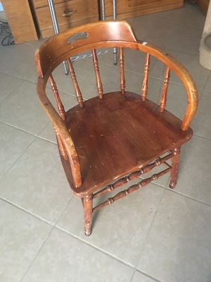 Vintage wood chair for Sale in Albuquerque, NM
