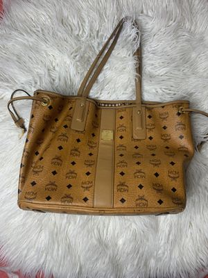MCM Cognac Tote Bag 100% Authentic Medium size for Sale in New York, NY