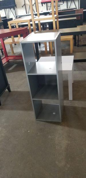 Small Grey 3 shelf Bookcase for Sale in Dallas, TX
