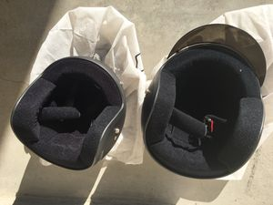 Male and female motorcycle helmets for Sale in Denver, CO