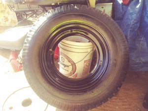 Lowboy trailer tires with rims for Sale in Tucson, AZ