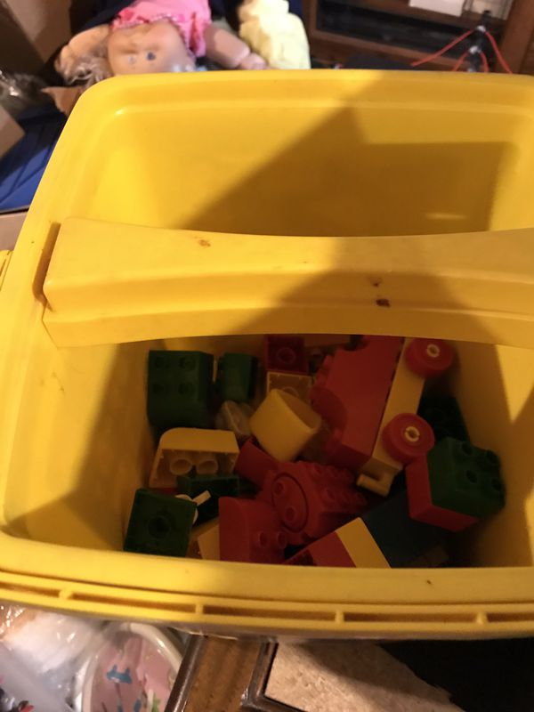 LEGO duplo 50 plus people train set and more
