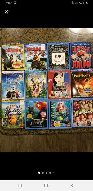 Lot of Disney / DreamWorks blu ray for Sale in Orange, CA