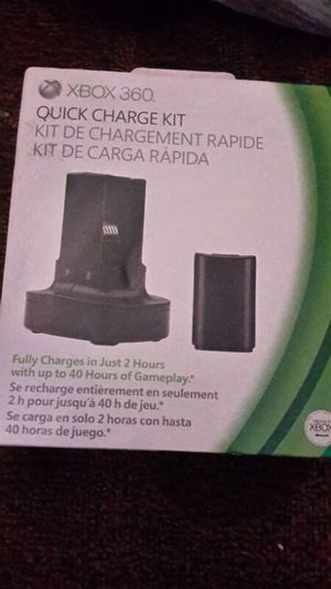Xbox 360 charge kit for Sale in Tampa, FL