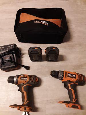 Ridgid 18 volt drills for Sale in Henderson, KY