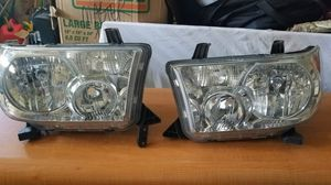 Toyota tundra headlights for Sale in Tampa, FL