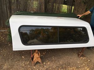 Fiberglass camper shell for Sale in Sacramento, CA