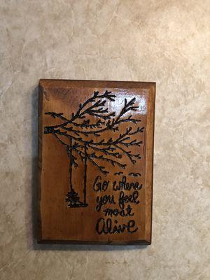 Wood Frame Alive for Sale in Clarksburg, WV