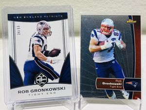 Rob Gronkowski Lot of 5 NFL Cards! Plus Bonus Cards! Tampa Bay Buccaneers! for Sale in Dallas, TX
