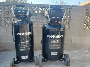 Husky air compressors for Sale in Bakersfield, CA