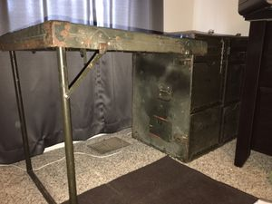 Antique Military-Style Desk/Table for Sale in Fort Belvoir, VA