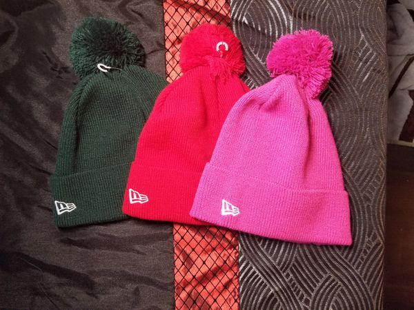 New Era hat and beanie many color