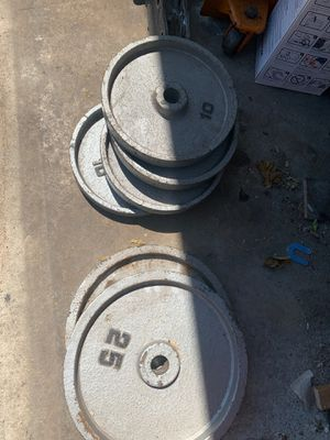 2-25 pounds and 4-10 pounds for Sale in Cicero, IL
