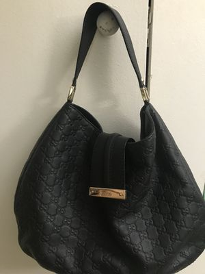 Gucci Guccissima Black Hobo Bag for Sale in Peabody, MA