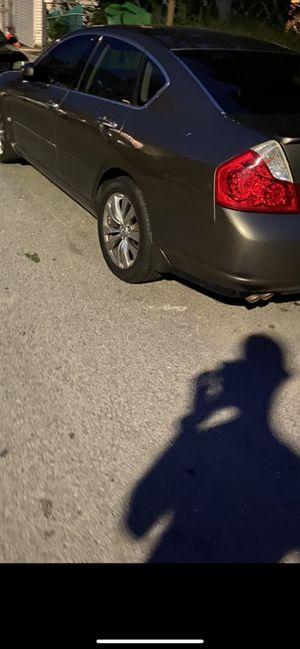 M35X PARTS,.,,, Navi, Black leather, Rims, Rear lights for Sale in Boston, MA