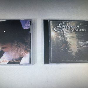 Lot of 2 Random CD's ( Patricia York) (Evergreen Singers: Sacred Classics) for Sale in Layton, UT