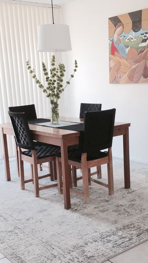 Dining Set - Table & 4 Chairs for Sale in Palm Springs, CA