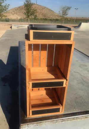 Wooden Storage Shelf display for Sale in El Paso, TX
