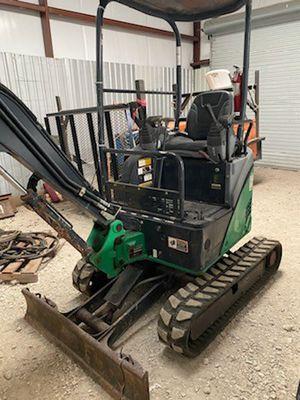 2014 John Deere 17D Mini Excavator 1200 Hrs for Sale in Stafford, TX