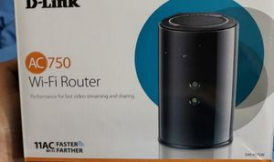 D-Link Ac750 Wifi router New in box for Sale in Seattle, WA