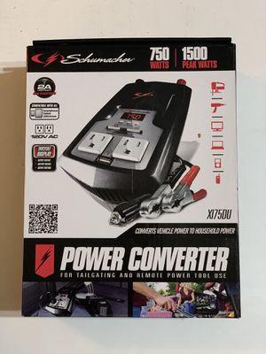 Schumacher Electric 750-Watt Power Inverter X175DU for Sale in Anaheim, CA