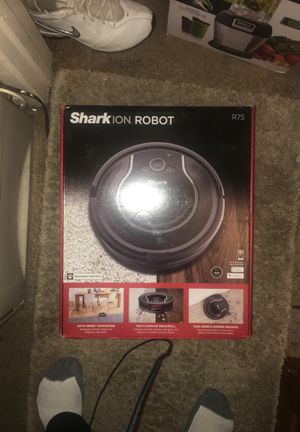 Shark ION Robot Vacuum R75 with Wi-Fi Connected (RV750) for Sale in San Diego, CA