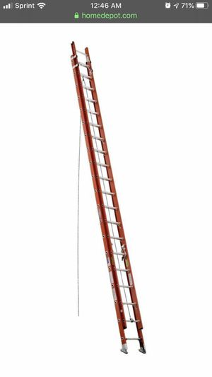 Werner ladder 40' forty foot ladder fiberglass ladder for Sale in Avon, IN