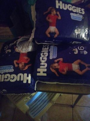 Huggies overnight size 6 for Sale in San Antonio, TX