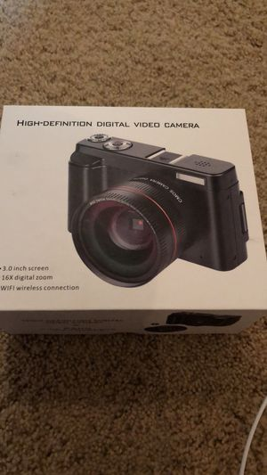 Brand New Ultra High Quality Vlogging Camera 📸Great For YouTube and Vlogging for Sale in Galena, OH