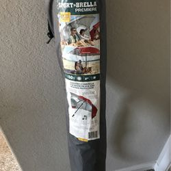 Sport Breaks Premier UPF 50+ Adjustable Umbrella For Maximum Sun Weather Protection for Sale in Katy,  TX